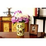 Wholesale - European Style Creative Ceramic Flower Vase Pattern Family Artware