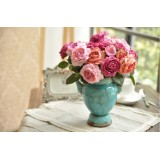 Wholesale - European Style Creative Ceramic Flower Vase Pattern Family Artware