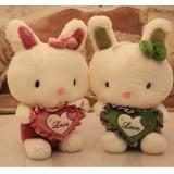 Wholesale - Lover Rabbits Plush Toys Stuffed Animals Set 2Pcs 40*25CM
