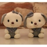 Wholesale - Lover Puppys Plush Toys Stuffed Animals Set 2Pcs 18cm/7Inch Tall