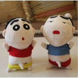 Wholesale - Crayon Shin-chan Plush Toys Stuffed Animals Set 3Pcs 18cm/7Inch Tall