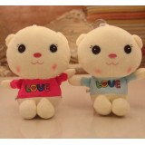 Wholesale - Lover Bear Plush Toys Stuffed Animals Set 2Pcs 18cm/7Inch Tall