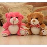 Wholesale - Teddy Bear Plush Toys Stuffed Animals Set 2Pcs 18cm/7Inch Tall