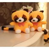 Wholesale - Racoon Plush Toys Stuffed Animals Set 2Pcs 18cm/7Inch Tall