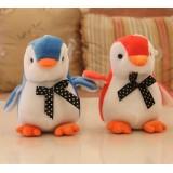 Wholesale - Penguin Plush Toys Stuffed Animals Set 2Pcs 18cm/7Inch Tall