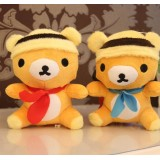 wholesale - Cute & Novel Bear Plush Toys Set 2Pcs 18*12cm