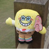 Wholesale - SpongeBob SquarePants 12s Voice Recording Plush Toy 18cm/7Inch Tall
