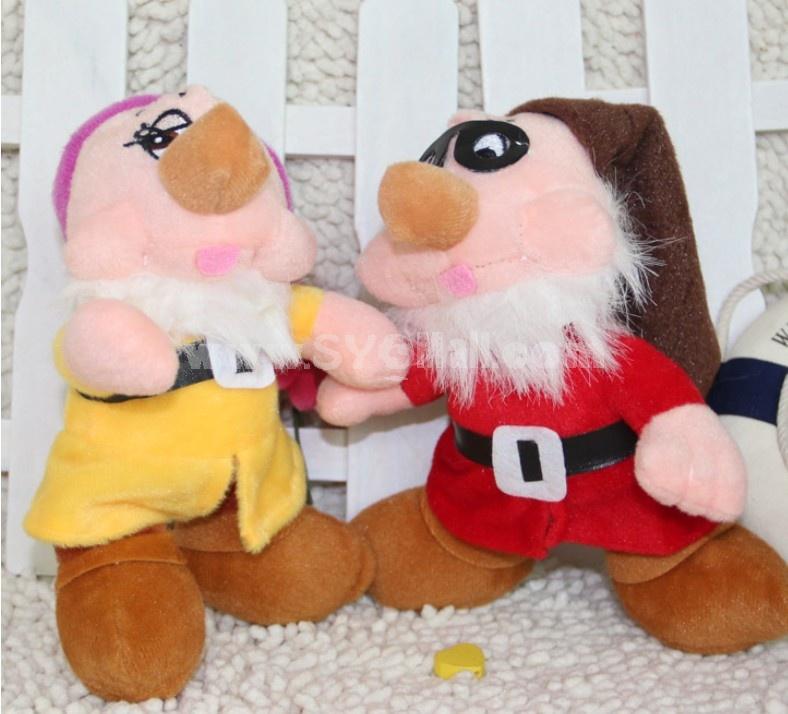 Lovely Seven Dwarfs Plush Toys Set 7Pcs 18*12cm