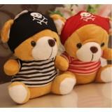 Wholesale - Bear Plush Toys Stuffed Animals Set 2Pcs 18cm/7Inch Tall
