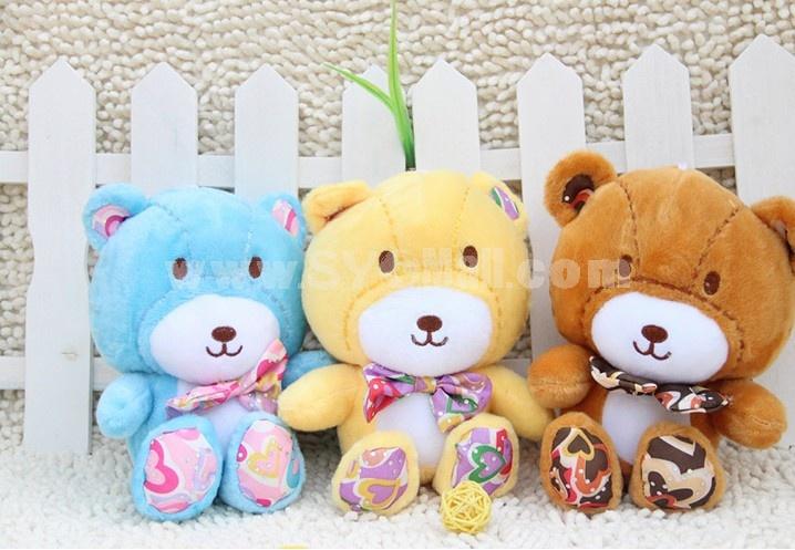 Lovely Teddy Bear Plush Toys Set 3Pcs 18*12cm