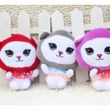 Wholesale - Cat Plush Toys Stuffed Animals Set 2Pcs 18cm/7Inch Tall