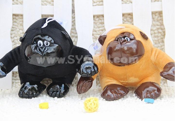 Lovely Gorilla Plush Toys Set 2Pcs 18*12cm