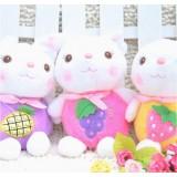 Wholesale - Rabbit Plush Toys Stuffed Animals Set 2Pcs 18cm/7Inch Tall