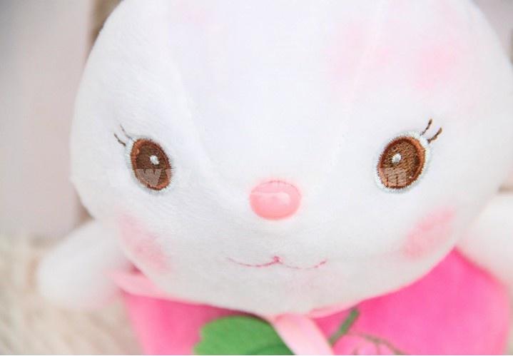 Lovely Rabbit Plush Toys Set 2Pcs 18*12cm