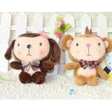 Wholesale - Lover Monkey Plush Toys Stuffed Animals Set 2Pcs 18cm/7Inch Tall
