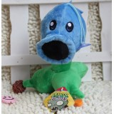 Wholesale - Plants VS Zombies Plush Toy Stuffed Animal - Snow Pea 17CM/6.7Inch Tall