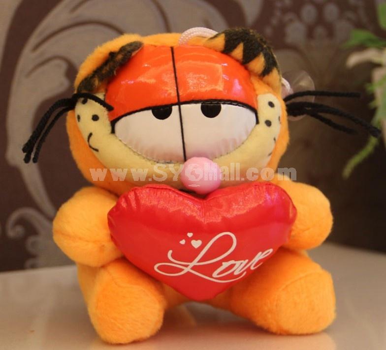 Lovely Garfield Plush Toys Set 2Pcs 18*12cm