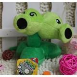 Wholesale - Plants VS Zombies Plush Toy Stuffed Animal - Split Pea 15CM/6Inch Tall