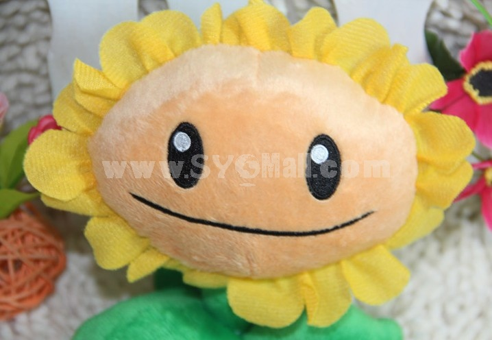Cute Plants vs Zombies Series Plush Toy 16*11CM