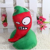 Wholesale - Plants VS Zombies Plush Toy Stuffed Animal - Jalapeno 19CM/7.5Inch Tall