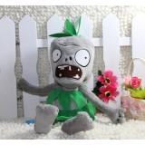 Wholesale - Plants VS Zombies Plush Toy Stuffed Animal - Green Dress Zombie 28cm/11Inch Tall
