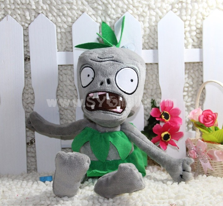 Cute Plants vs Zombies Series Plush Toy 28*10CM