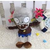 Wholesale - Plants VS Zombies Plush Toy Stuffed Animal - Grey Zombie 28cm/11Inch Tall