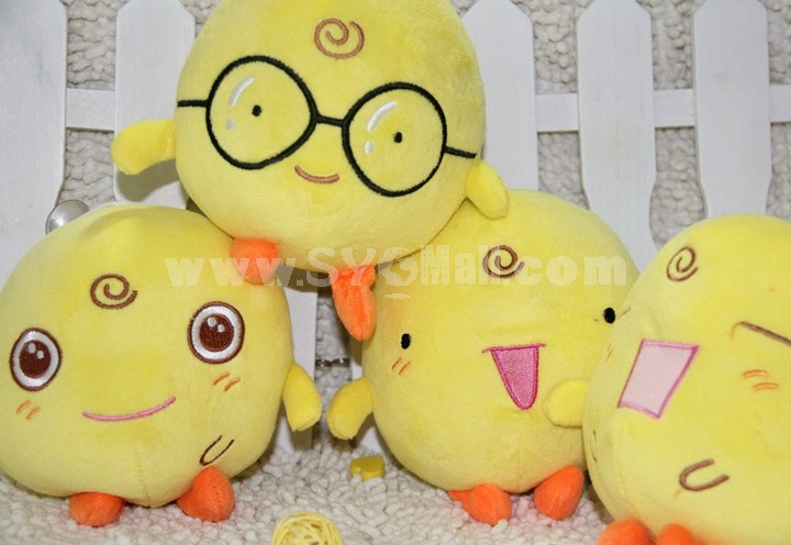 Cute Chicken Plush Toy Set 4PCs 18*12CM