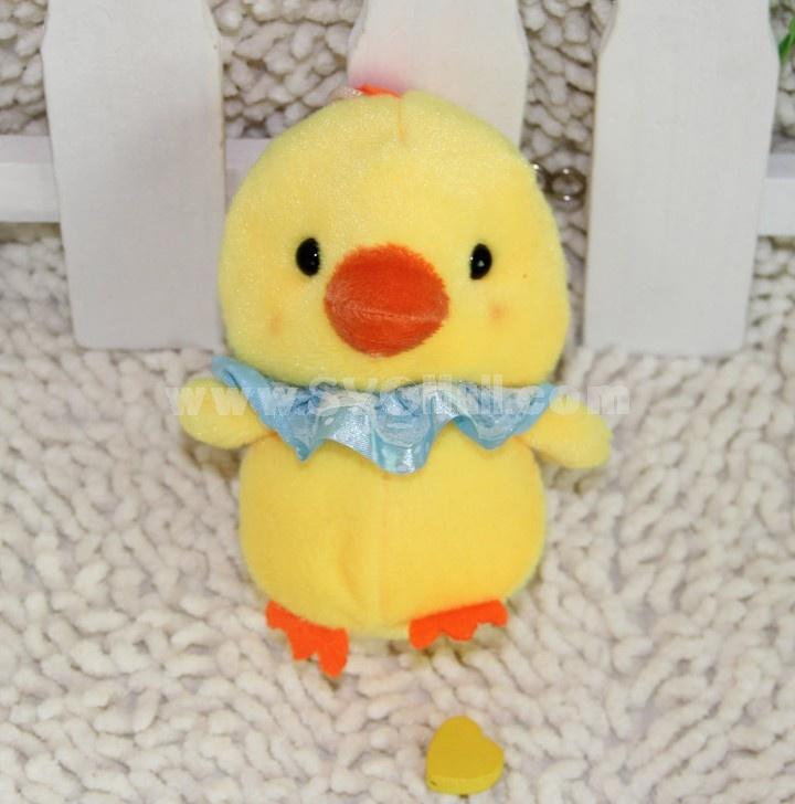 Cute Chicken Plush Toy Set 2PCs 18*12CM
