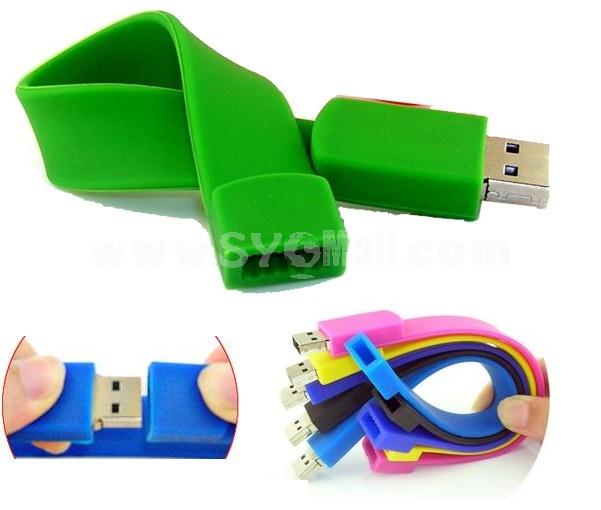 Wrist Strape Shape 8G USB Flash Disk