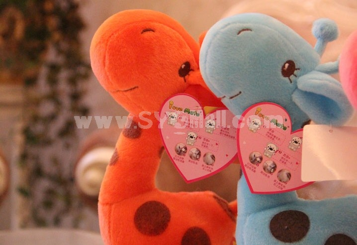 Lovely Giraffa 12s Record Function Plush Toy 18*13cm