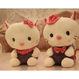 Wholesale - Cute & Novel Cat 12s Voice Recording Plush Toy 18*13cm 2PCs