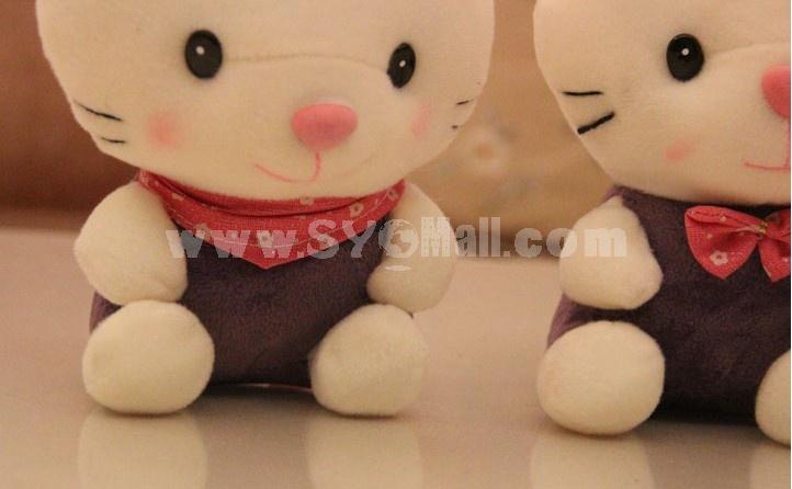 Lovely Cat 12s Record Function Plush Toy 18*13cm 2PCs