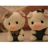 Wholesale - Cute & Novel Pig 12s Voice Recording Plush Toy 18*13cm 2PCs