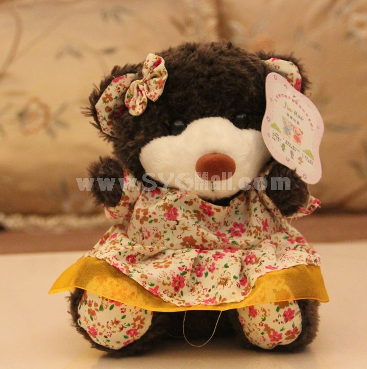 Lovely Teddy Bear 12s Record Function Plush Toy 18*13cm
