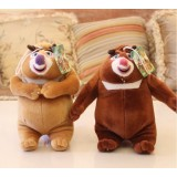 Wholesale - Cute & Novel Bear 12s Voice Recording Plush Toy 18*13cm 2PCs
