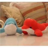 Wholesale - Cute & Novel Dolphin 12s Voice Recording Plush Toy 18*13cm