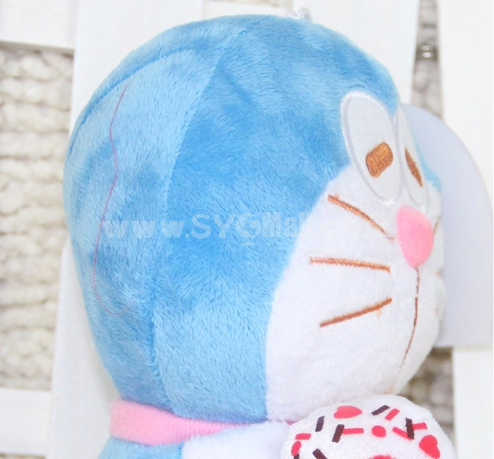 Lovely Doraemon 12s Record Function Plush Toy 18*13cm 2PCs