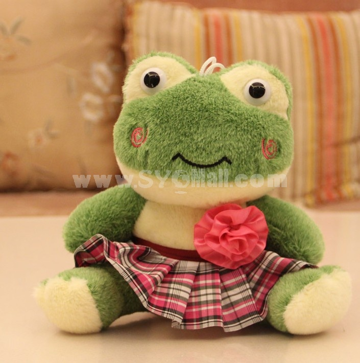 Lovely Frog 12s Record Function Plush Toy 18*13cm