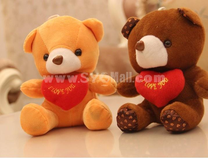 Lovely Bear 12s Record Function Plush Toy 18*13cm 2PCs