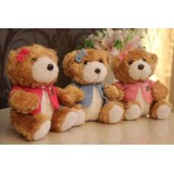 Wholesale - Cute & Novel Teddy Bear 12s Voice Recording Plush Toy 18*13cm