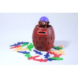Wholesale - Popping-up Pirates Doll Toy Piggy Bank Money Box Middle Size