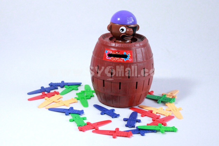 Popping-up Pirates Doll Toy Piggy Bank Money Box Middle Size