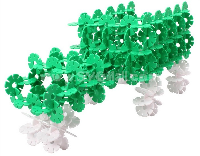 320 pcs Small Size Snowflakes Educational Toy Children's Gift