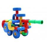Wholesale - 64 pcs Plastic Pipes Toy