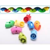 Wholesale - 48 pcs Plastic Bendable Pipes Toy