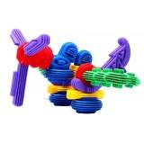 Wholesale - 100 pcs Plastic Building Blocks Toy