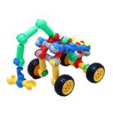 Wholesale - 140 pcs Skeleton-Like Plastic Building Puzzle Toy