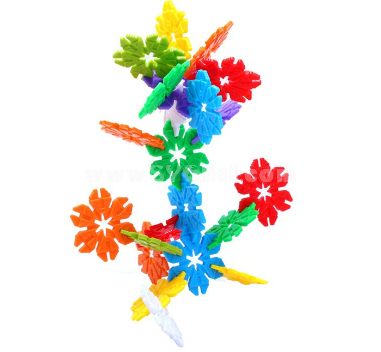 320 pcs Flower Shape Inserting Toy Educational Toy Children's Gift