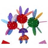 Wholesale - 180 pcs 6-Shape Building Blocks Toy